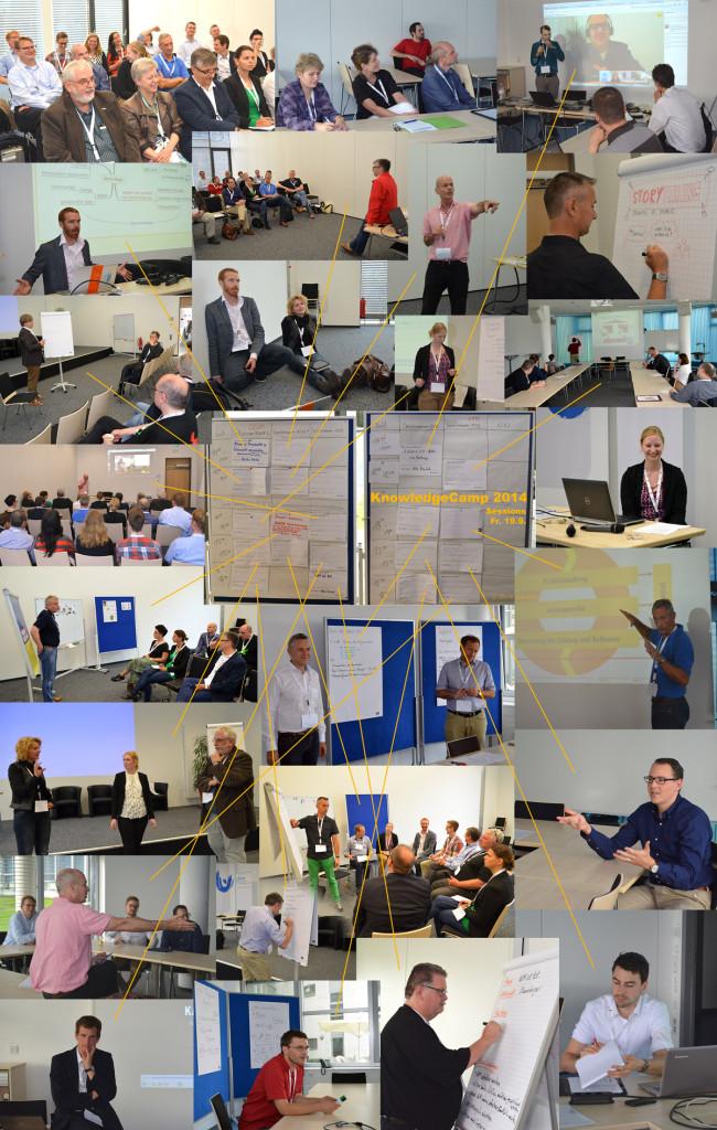 Sessions vom Freitag auf dem KnowledgeCamp 2014