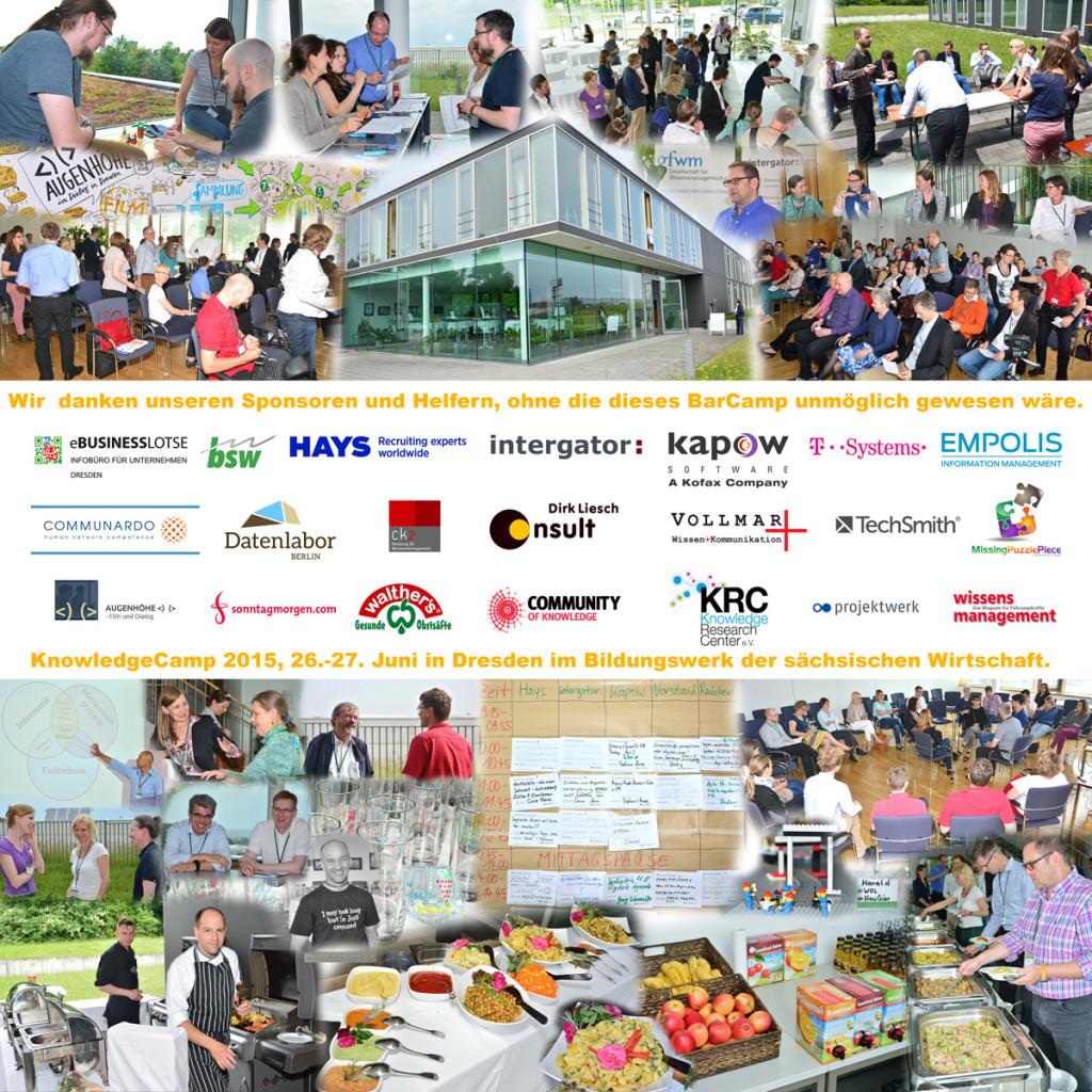 KnowledgeCamp 2015 - Übersicht