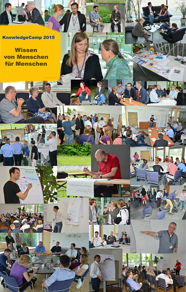 GfWM KnowledgeCamp 2015 - Impressionen