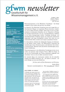 GfWM newsletter 1 16 frontp