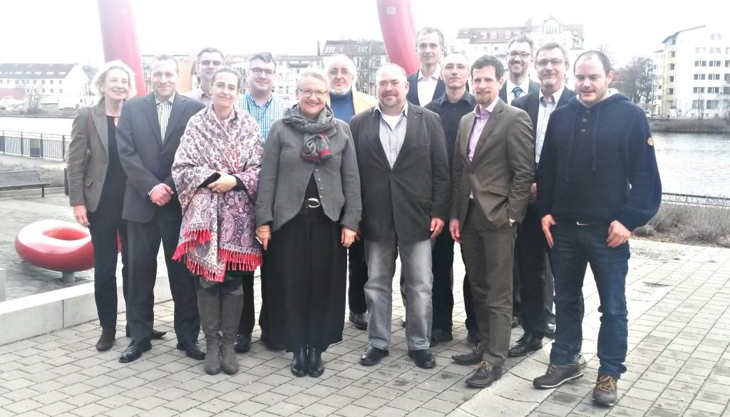 Gruppenfoto der Teilnehmer am Zukunftsworkshop Kompetenzmanagement am 26.02.2016 an der HTW Berlin