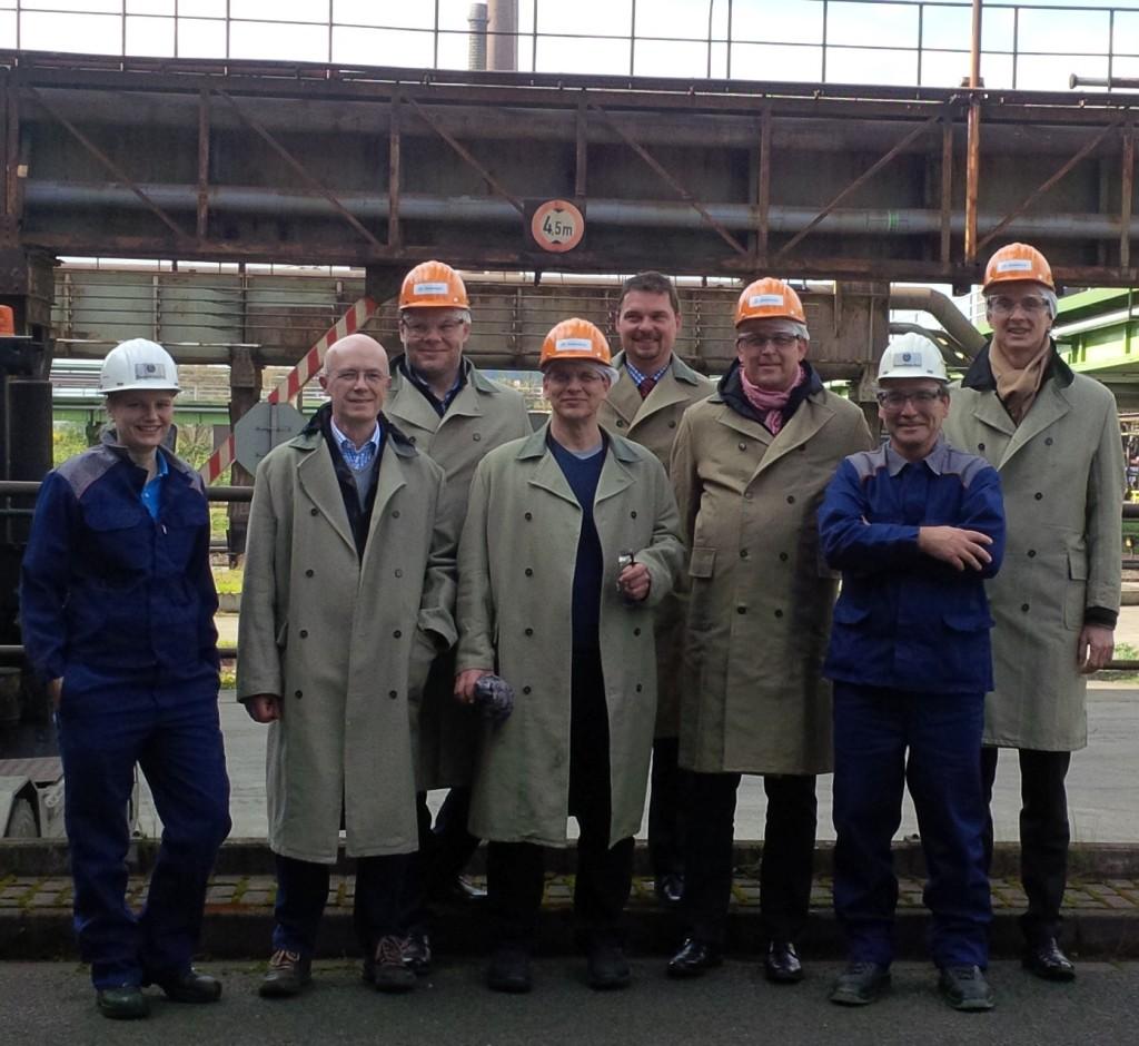 Zweites Treffen des Wissensmanagement-Praktiker Netzwerks der GfWM am 15. April 2016 bei thyssenkrupp Steel Europe in Duisburg