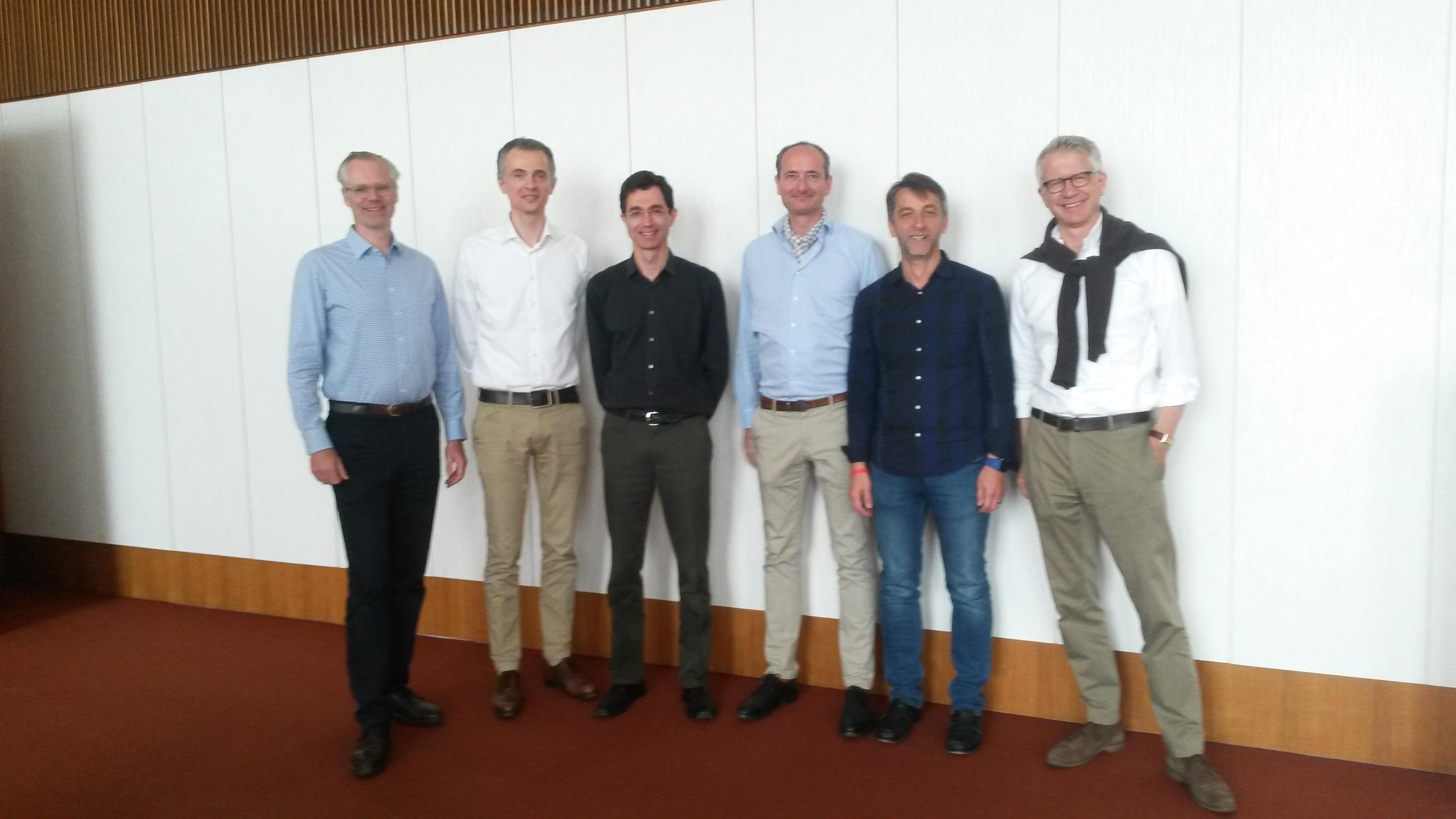 Die Teilnehmer des Studygroup-Treffens vom 26. und 27. Mai 2016
