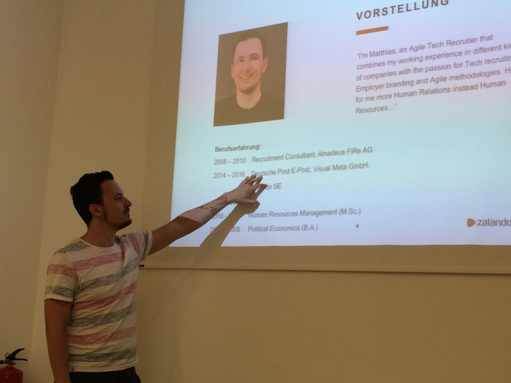 Matthias Schmeißer, Tech Recruitement Specialist bei Zalando