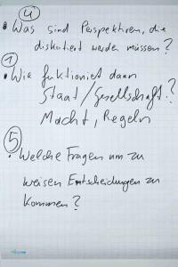 World Cafe - Fragen Frankfurt 2015 - Teil 2