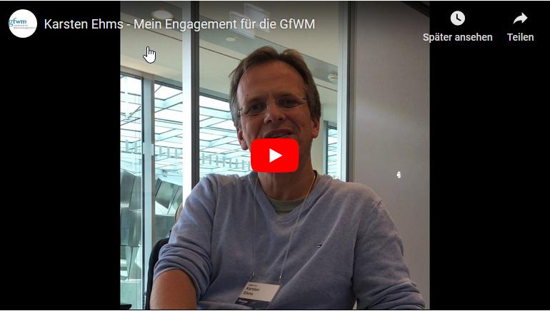 Karsten Ehms engagiert sich für die GfWM