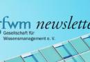 gfwm newsletter Herbst 2019