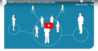 """GfWM Track 2019 """"Wissen muss vernetzt sein!"""""""